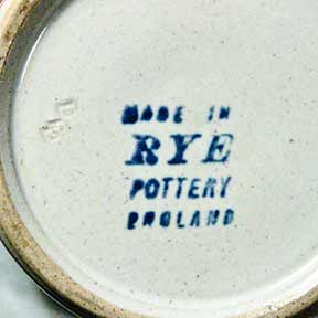 Rye loving cup (marks)