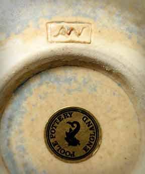 Poole Alan White studio pot (base)