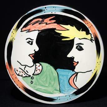 Jane Willingale face plate II