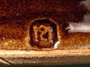 Brown Scott Marshall jug (mark)