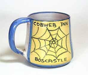Tintagel Cobweb mug