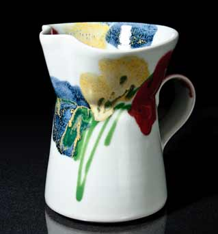 Dartington Poppy jug