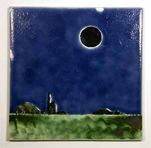 Alan Brough eclipse tile
