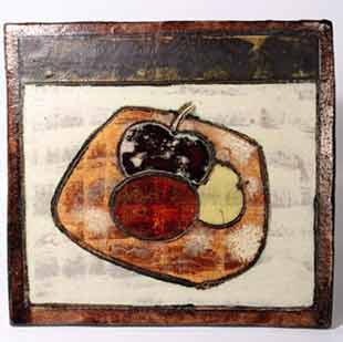 Dworski fruit plaque