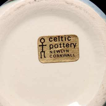 Celtic fishing boat mug (label)