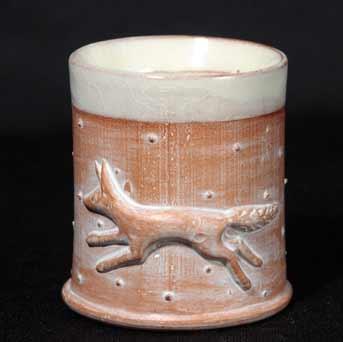 Philip Wood fox eggcup
