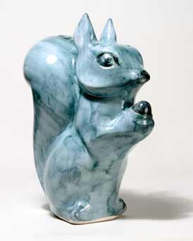 David Sharp squirrel moneybox