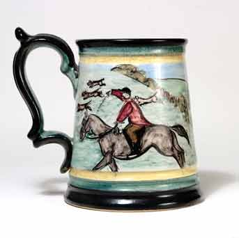 Glyn Colledge hunting tankard III (back)