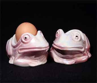 Pink Sunset frog eggcups