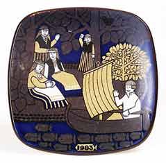 Arabia wall plate