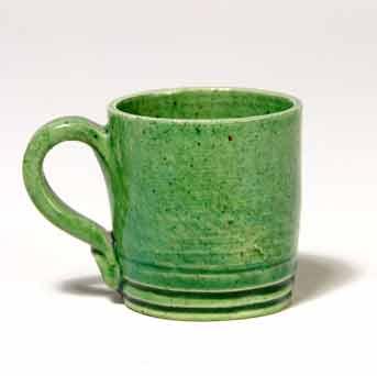 Old miniature Rye mug