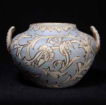 Two-handled Langley vase