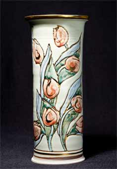Port Isaac cylindrical vase