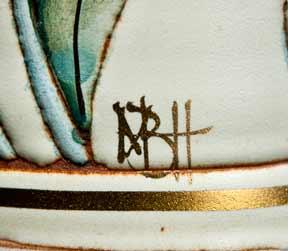 Port Isaac cylindrical vase (mark)