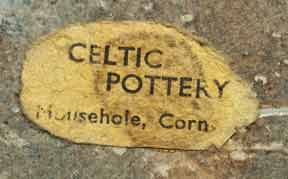 Very old Celtic dish (label)