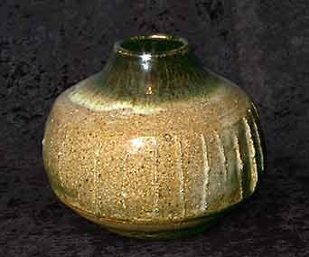 Janet Leach gourd vase