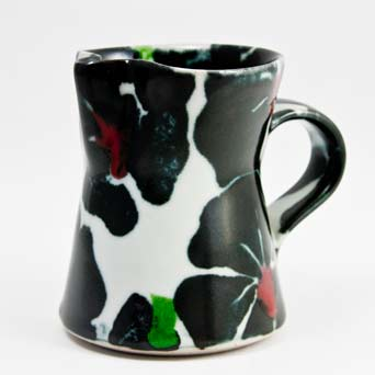 Dartington Black Rose jug