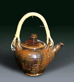 Seth Cardew Tenmoku teapot