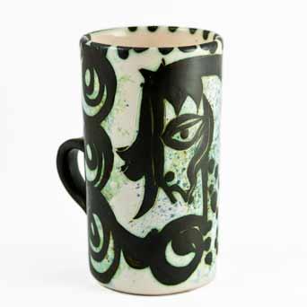 Celtic horse mug