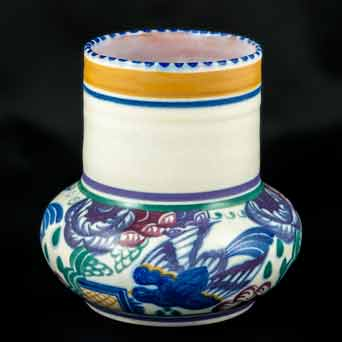 Poole Bluebird vase
