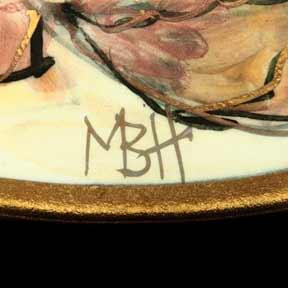 Port Isaac seashore plate (mark)