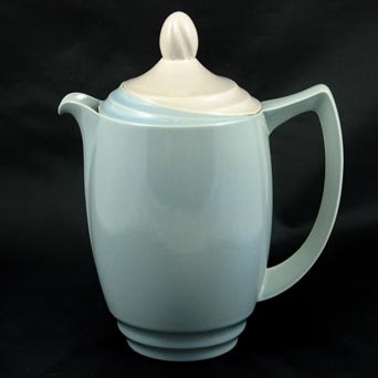 Blue Branksome coffee pot