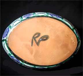 Picault oval dish (base)