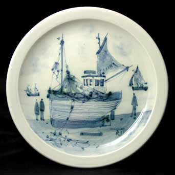 Iden boat plate
