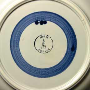 Iden boat plate (mark)