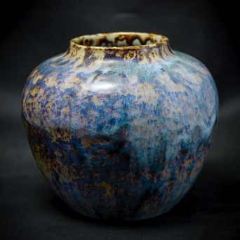 Mottled Candy vase