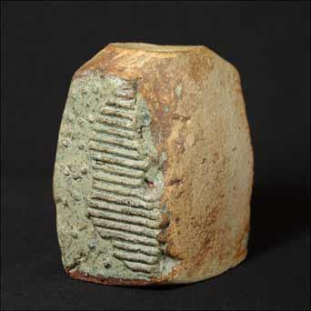 Bernard Rooke chunky vase