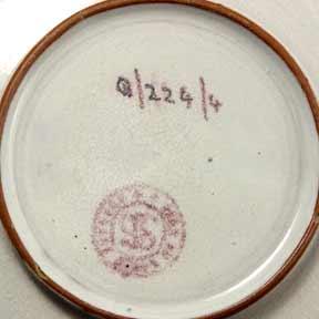 Saunders bowl (marks)