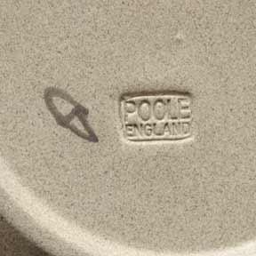 Poole zebra plate (marks)
