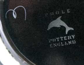 Poole Galaxy bowl (marks)