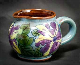 Round floral Chelsea jug