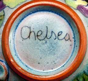 Round floral Chelsea jug (base)