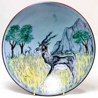 Chelsea blackbuck antelope dish