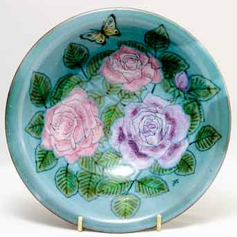 Chelsea rose and butterfly bowl