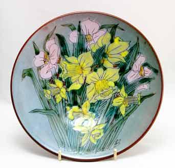 Chelsea daffodil dish