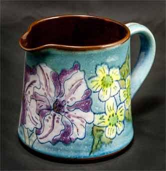 Chelsea floral jug