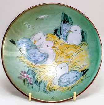 Chelsea nesting bird dish