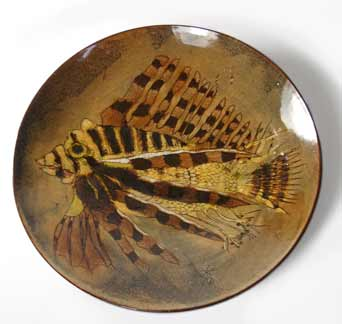 Joyce Morgan lion fish dish