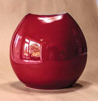 Poole purse vase (back)