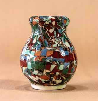 Small Gerbino vase